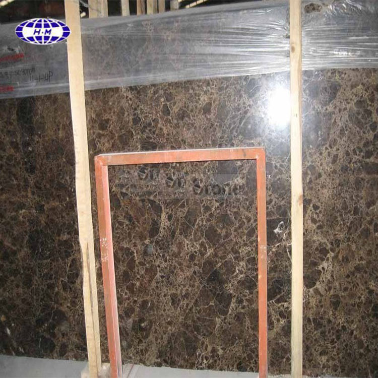 Spain Dark Emperador Marble Slab For Sale