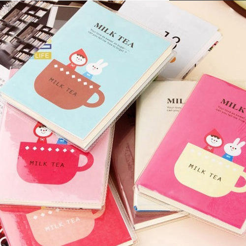 Custom Logo Plastic Cover Sticky Notes Notebook Memo Pads