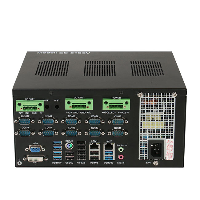 ECSUU H81 <span class=keywords><strong>chipset</strong></span> Haswell LGA1150 Intel <span class=keywords><strong>Core</strong></span> i5 4200u celeron Single-board IPC barebone industriale di controllo comp [uter