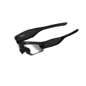 Gogloo E7 High performance 1080P glasses camera wifi for Sports bike fishing  matte black