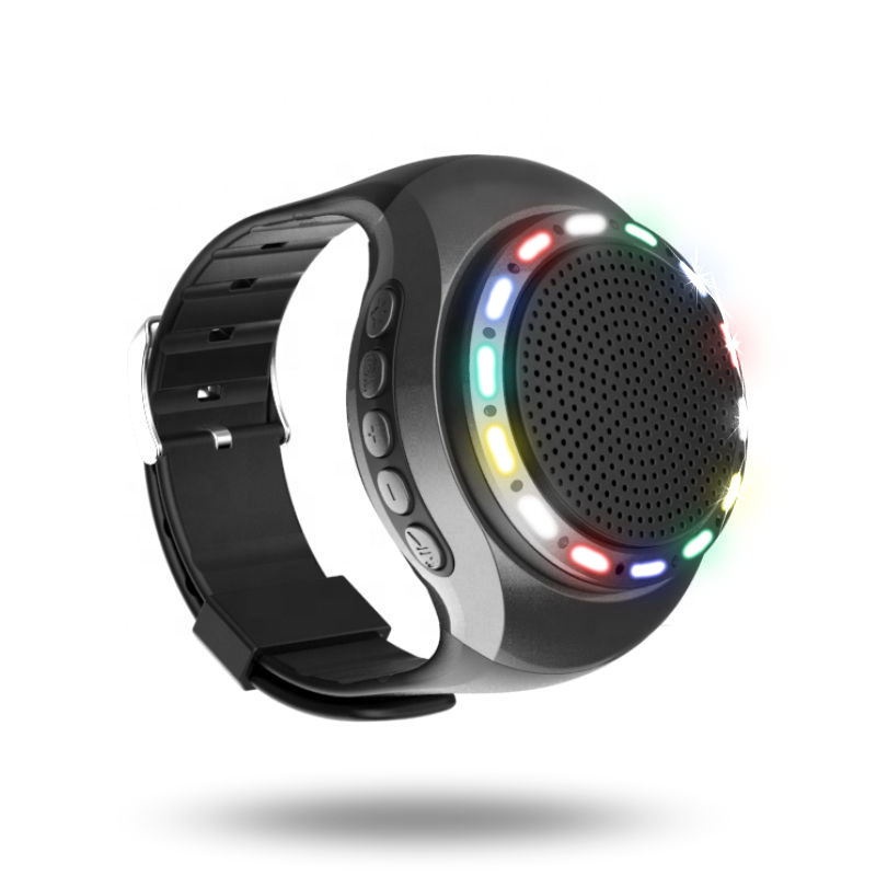 U6 Gift bluetooth sport bluetooth speaker watch with led run light