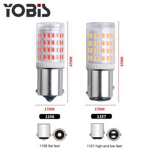 Canbus S25 1156 1157 BA15S BAY15D P21/5W Waterproof Lamp Car Led Bulbs For Vehicle Turn Signal 12V
