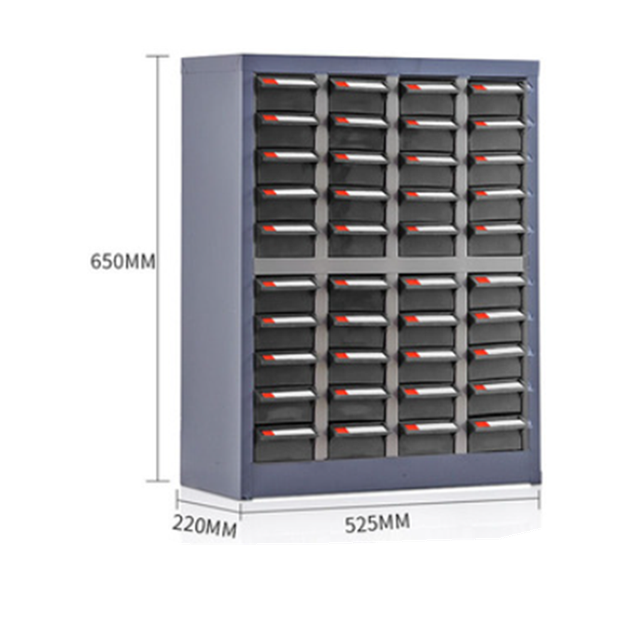 anti-static super strength 40 drawers Metal Small Parts Storage Cabinet