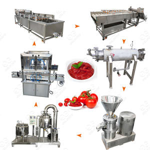 Gelgoog Automatic Ketchup Sauce Production Avocado Making Machine Mustard Raspberry Date Jam Maker Tomato Paste Processing Line