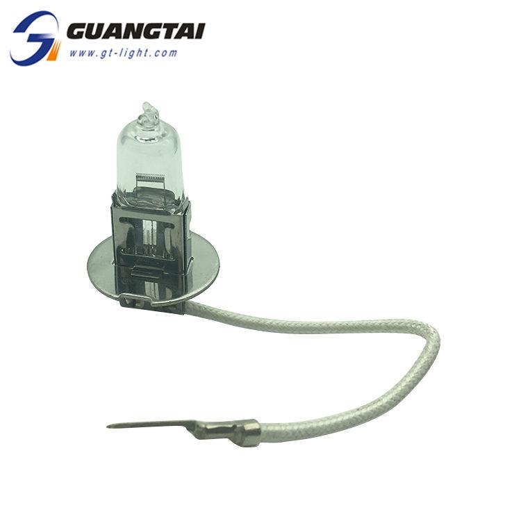Chine Fournisseur Excellent Matériel Ampoule H3 12V 55W Caché Lampe Halogène