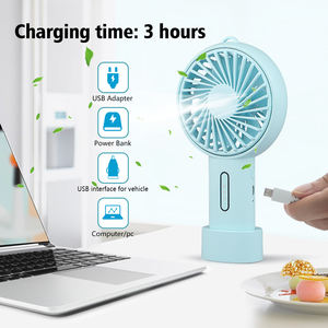 TIZE Handheld Small Battery Operated Personal Fan Usb Electric Rechargeable Mini Portable Fan Customise Logo