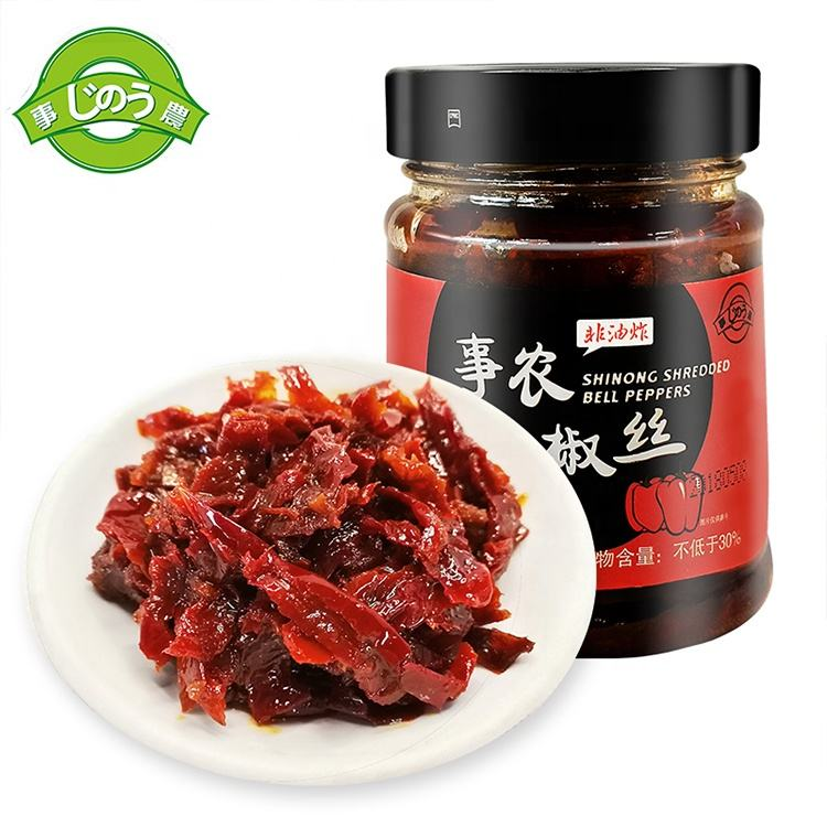 Wholesale red chillies supplier red chilli shreds chili pepper canned
