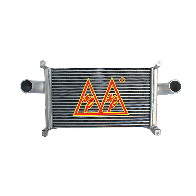 SHUANGFENG high quality auto all aluminum intercooler for MITSUBISHI FUSO MICANTER 5.5T 2010