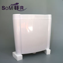project dual buttons Plastic toilet flush tank toilet water cistern