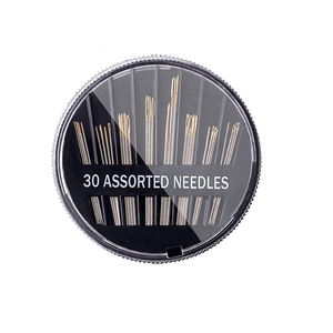 Factory -direct 30 pack Sewing Needles Durable Assorted Size Embroidery Sewing Needles for hand