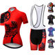 Custom Summer Bike Shirt Maillot Ciclismo Short Sleeve Bib Shorts Kit Bicycle Clothing Breathable Women's Cycling Jersey Sets