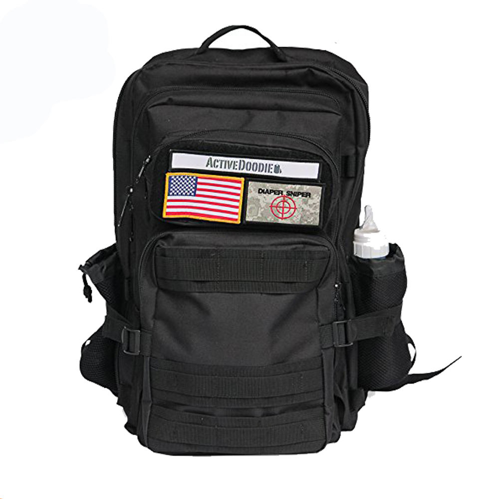 With Changing Pad Men's Baby Tactical diaper bag Military Diaper Backpack