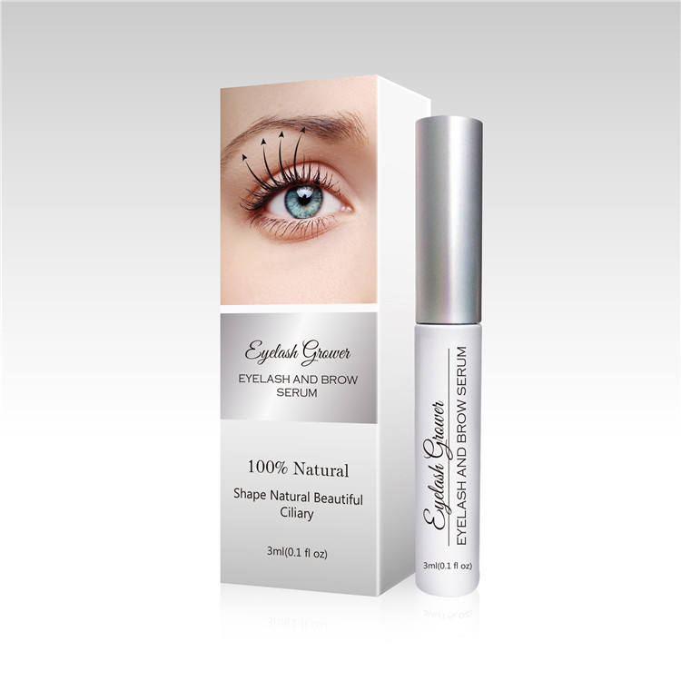 OEM Wholesale Organic Eye Brow Eye Lash Enhancer Enhancing Eyebrow Eyelash Growth Serum Private Label Eyelash Serum