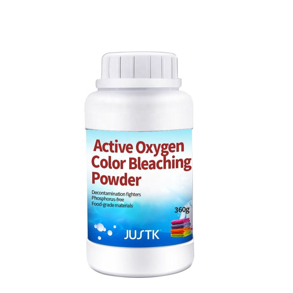 JUSTK cloth washing laundry powder Active Oxygen Color Bleaching Powder