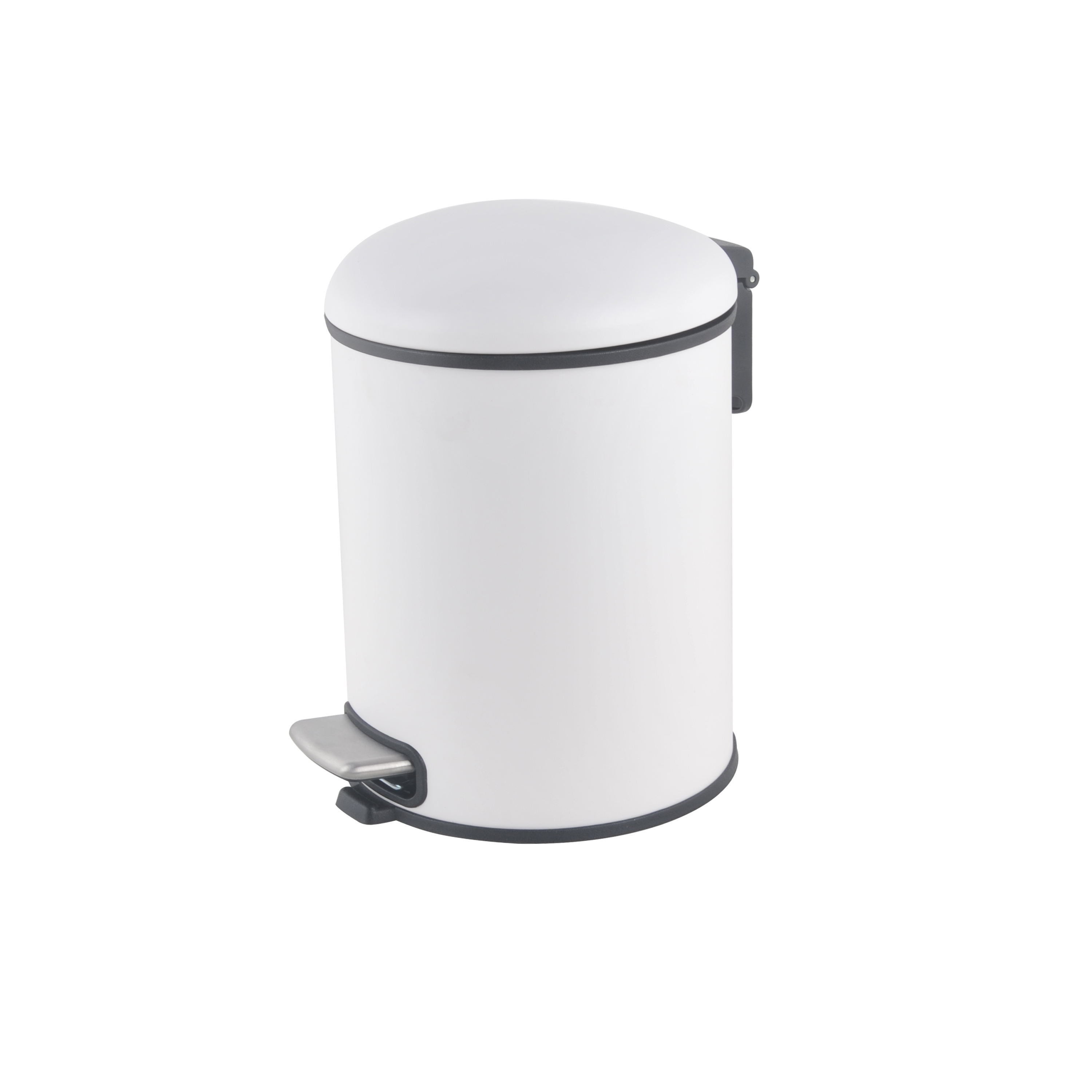 Victory Latest design 5 Liter Foot Pedal Bathroom Innovative Waste Bins Dustbin bathroom bin