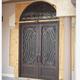 Factory Wholesale Wrought Iron Door Steel Security Door Front Door