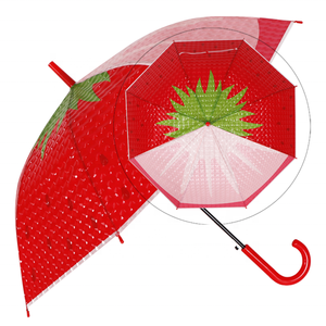 RST Real Star 21 inches 3D new design kid fruit child Umbrella 3D clear umbrella for children