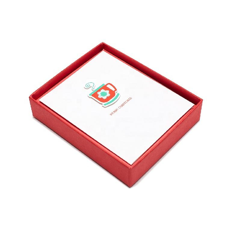 Petite Tea Cup 3D Christmas Cards, Best Seller Handmade Christmas Boxed Cards