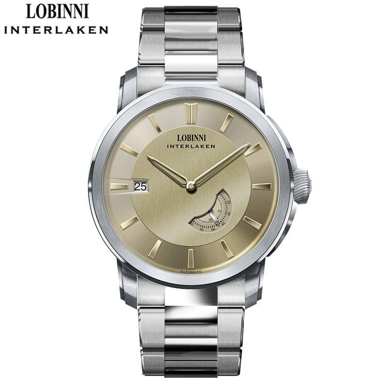 Lobinni 16014 Men watch 50 meters waterproof men wrist watches