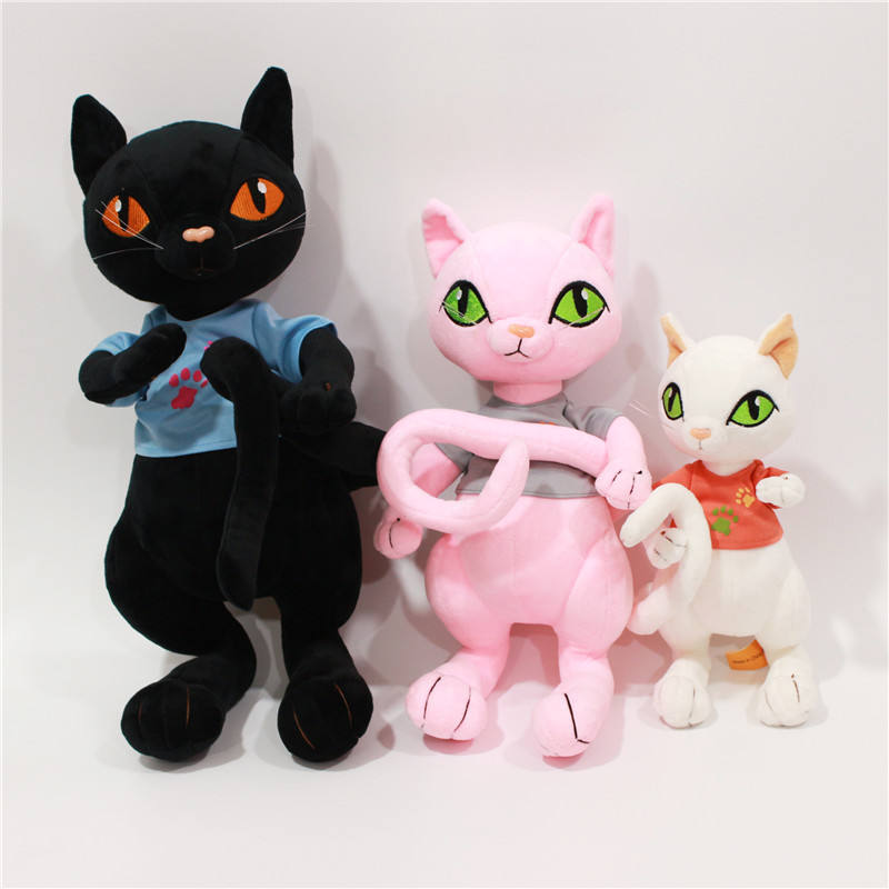Creative plush toy long tail cat doll for kid