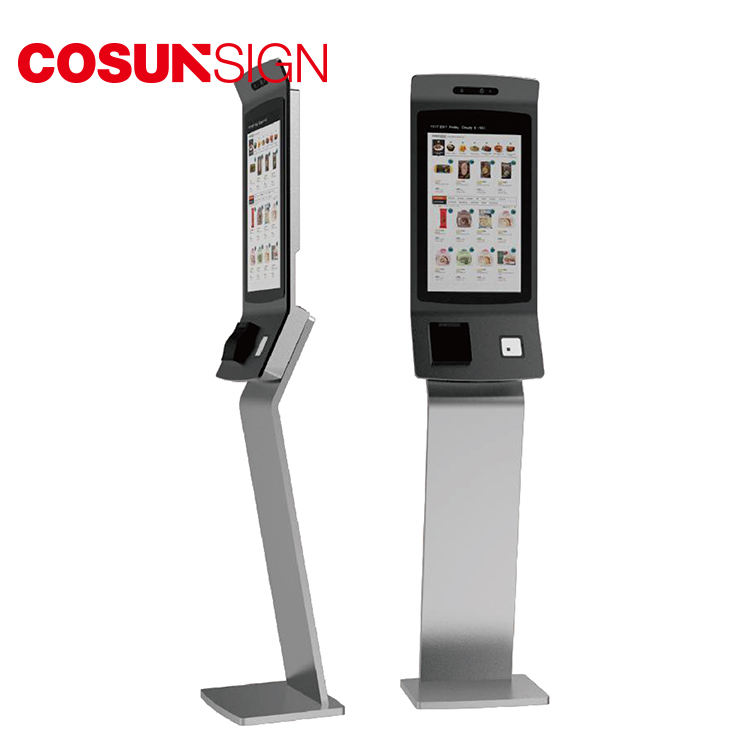 Cosun Restaurant Android Outdoor Self Service Machine Stand Touch Screen Payment Kiosk Price