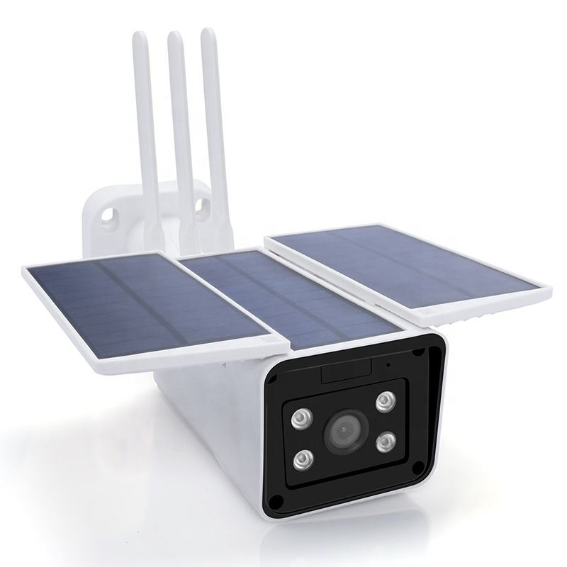 WiFi Outdoor Security CCTV Battery Solar Powered Wireless IP Camera With Two-way Audio