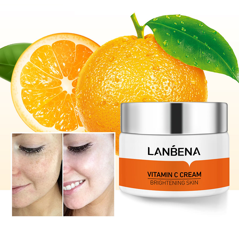LANBENA vitamin c moisturizer night cream for face cream whitening
