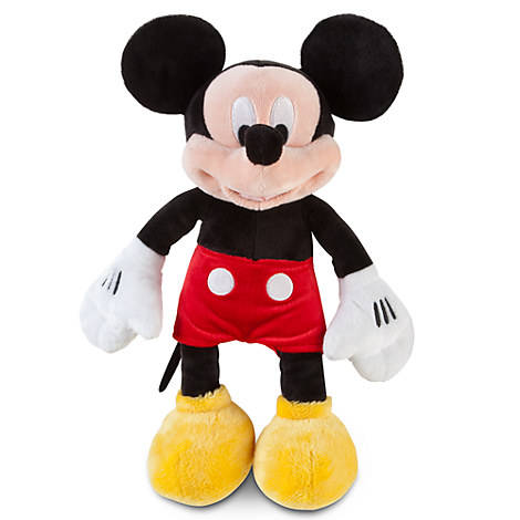 Kedi EN71 Mini Plush Mickey Mouse Boneka Bantal Bantal Lembut Mainan