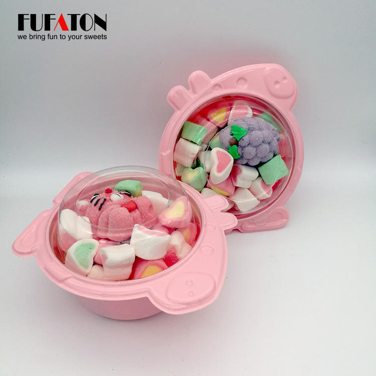 Fruity colored marshmallow candy producer for wholesale