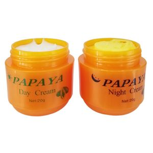 Skin Care Natural Papaya Tightening Whitening Face Cream Melasma Treatment Day Night Clear Cream for Women Skin Care