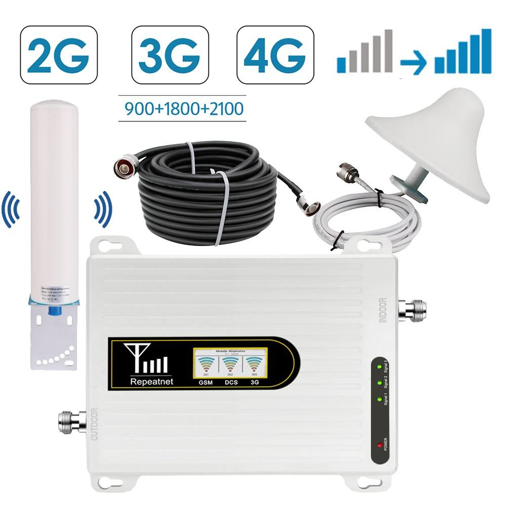 Multifunctional lte 800 4g for home with antenna cell phone signal booster