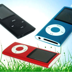 Hot selling 8G MP4 Player 1.8'' Video Radio FM MP3 MP4
