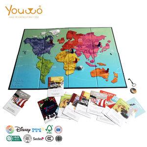 Hersteller Großhandel Quadratischen Brett Familie Strategie Spiel Karten Für Kinder