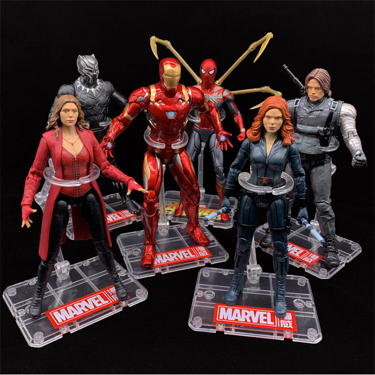 Figuras de acción de <span class=keywords><strong>Marvel</strong></span> Legends, superhéroes coleccionables POP de PVC, modelos de superhéroes