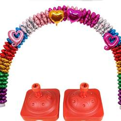Hot Selling Plastic Balloon Arch Frame Kit Water balloon kit pedestals base For birthday Party