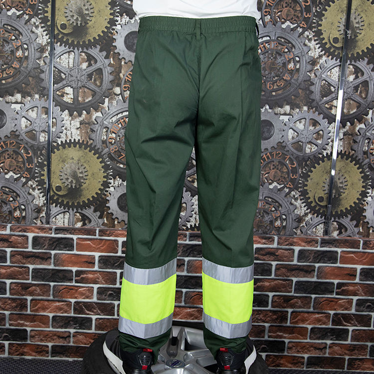 Construction Cargo Pants Custom Construction Work Trousers Cheap Factory Men Reflective Cargo Pants