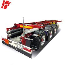 2 Axles 3 Axles 20ft 40ft Skeleton Container Chassis for Sale