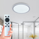 360 degree led ceiling light with remote 24W 36W 300mm-500mm ip54 modern led ceiling light for bathroom dinning hall hallway
