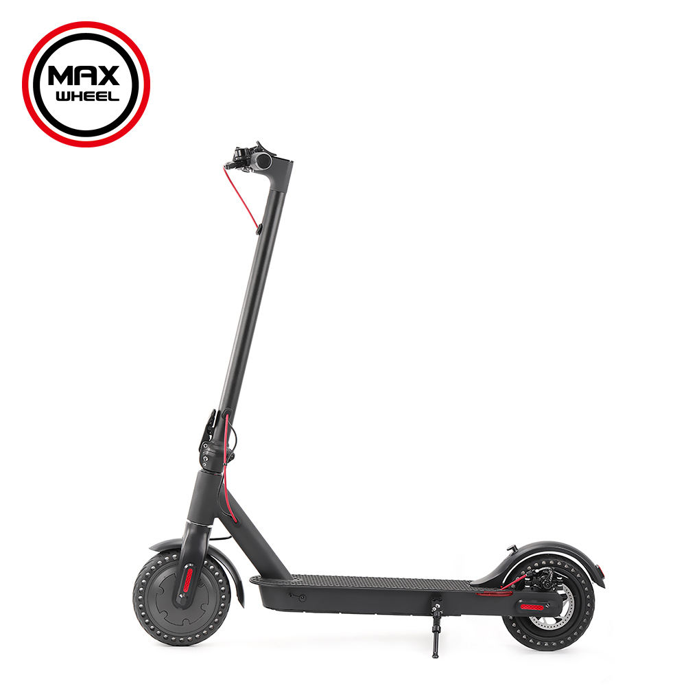 2019 new model adult electric scooter,europe 8.5inch two wide wheel folding electric scooter ecc