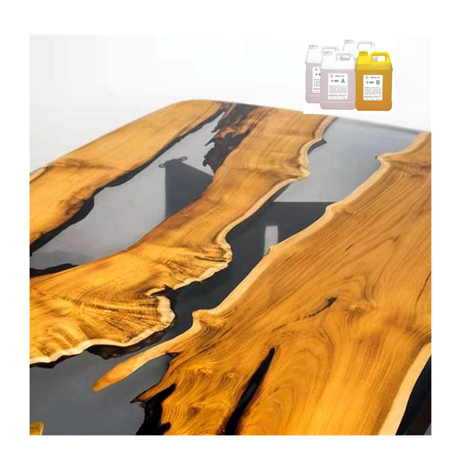 Wholesale diy epoxy resin for art craft jewelry clear resin epoxy for river table making