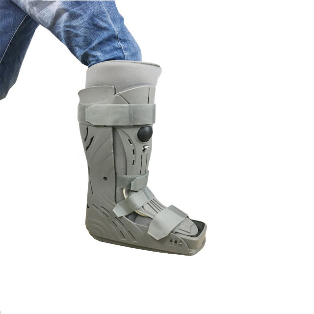 Fracture cam walker orthopedic aircast walking boot with comfortable pad CE appliance