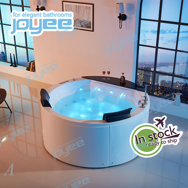 JOYEE Pure Acrylic luxury hot tub/spa/whirlpool jacuzzi bath tub apollo massage freestanding soaking bathtub with air bubble jet