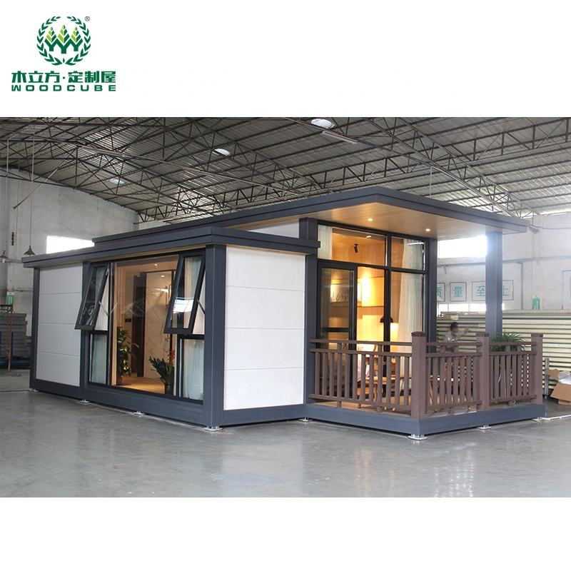 Prefab container homes for sale in USA portable house steel frame cabin