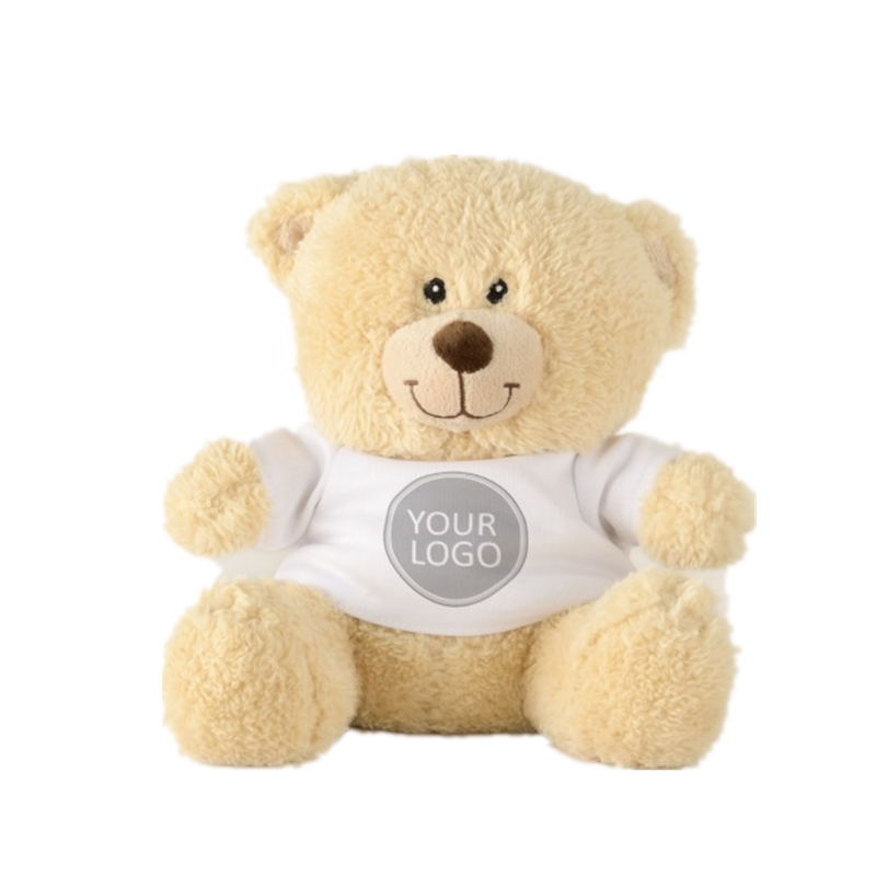 Custom Your BusinessTeddy Bears Clothes Logo Promotional Business Company Teddy Bear