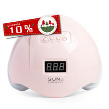 Free Logo 2020 Newest Nail Lamp 48W Led Uv Gel Nail Polish Curing Lamp Light Dryer