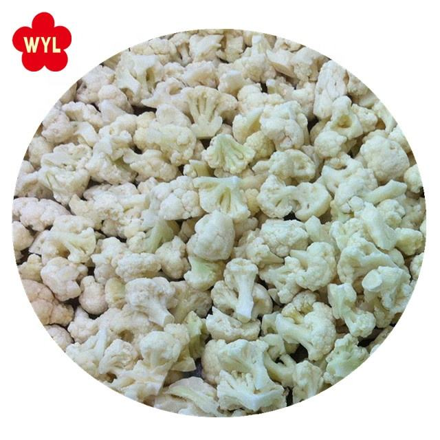 HACCP KOSHER HALAL BRC FDA SEDEX Quality New season China frozen cauliflower