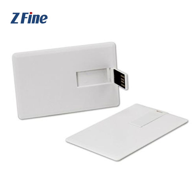 High-grade Durable and beautiful large capacity SIM Reader Micro USB ID credit Business Printable Memory flash Blank usb card