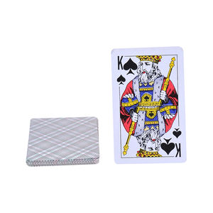 customized poker card custom printing paper poker playing card