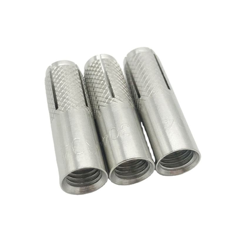 M6 M8 M12 M16 SS SS304 SS316 stainless steel drop in anchor