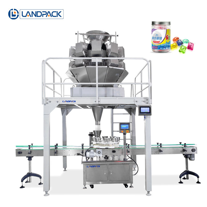 Landpack Detergent Beads automatic filling machine Factory direct price